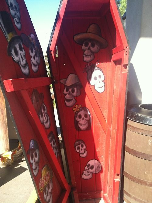 day of the dead funeral