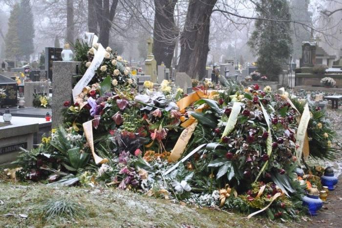 Rakowicki cemetery Krakow Poland funeral